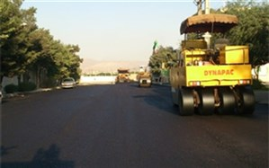 آغاز پروژه آسفالت معابر اصلی منطقه سه شهرداری قزوین در سال97