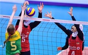 والیبال قهرمانی دختران جوان آسیا؛ دختران ایران صدر جدول را از دست دادند