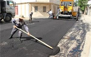 آغاز پروژه آسفالت معابر فرعی منطقه سه شهرداری قزوین در سال97