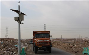 تجهیز سایت های تخلیه پسماندهای عمرانی و ساختمانی قم به سیستم کنترل تردد هوشمند