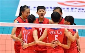 والیبال قهرمانی دختران جوان آسیا؛ هند ته جدولی ماند