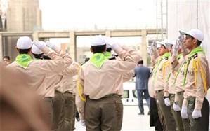 حضور پیشتازان سازمان دانش آموزی شهرستانهای استان تهران در مصلی امام خمینی(ره) در روز عید فطر