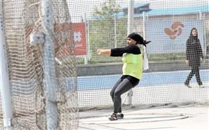 امینه کشیر تنها نماینده گلستان در مسابقات چکش پرتاب ترکیه