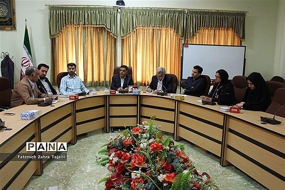 جلسه شورای برنامه ریزی سازمان دانش آموزی استان سمنان