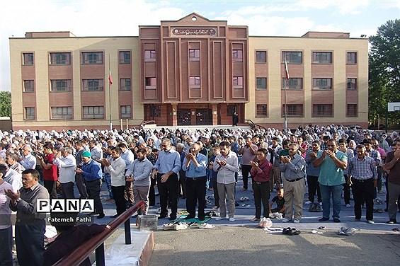 برگزاری مراسم نماز عید فطر در چهاردانگه