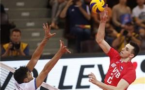 لیگ ملتهای والیبال؛ روسیه رقابت مدعیان را داغ کرد