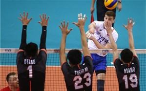 لیگ ملتهای والیبال؛ روسها به رده دوم رسیدند