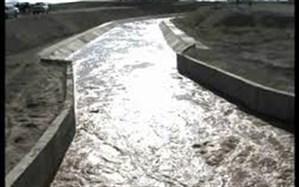 جان باختن نوجوان ملکانی در کانال آبرسانی
