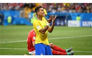 جام جهانی 2018؛ شوک اول به برزیل وارد شد