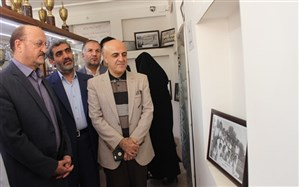 استاندار قزوین از موزه فرهنگ آموزش و پرورش  بازدید کرد