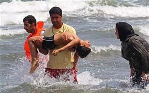 نجات جان 300 نفر در ساحل مازندراناز ابتدای خرداد
