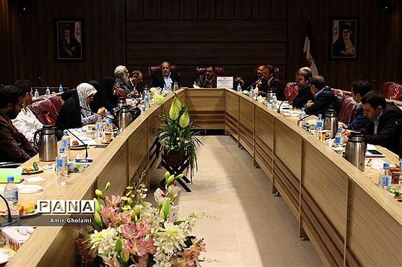 جلسه هماهنگی اردوهای یکروزه امید و نشاط شهرستانهای استان تهران