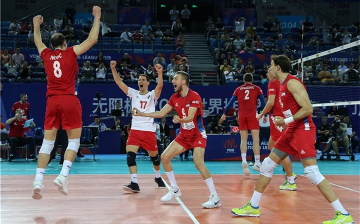 تیم ملی والیبال صربستان 2018
