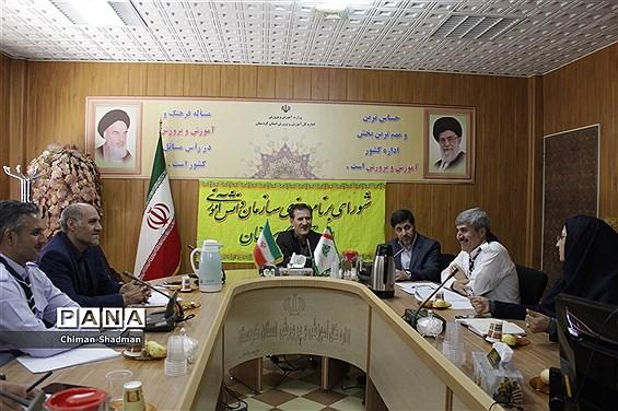 جلسه شورای برنامه ریزی سازمان دانش آموزی استان کردستان