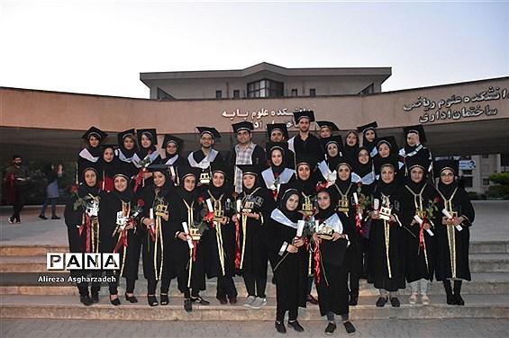 جشن فارغالتحصیلی دانشجوهای دانشگاه مازندران