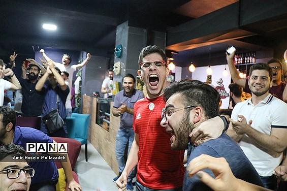 تماشای فوتبال ایران و پرتغال در ارومیه