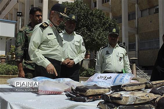 کشف 16.5 تن مواد مخدر در سه ماهه ابتدای سال جاری در استان فارس