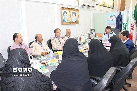 جلسه مجمع مربیان و مدرسین سازمان دانش آموزی استان بوشهر