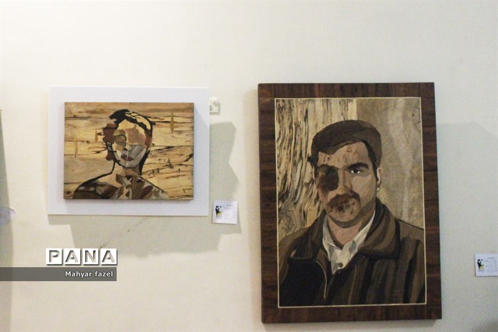 نمایشگاه آثار هنری با عنوان «هویت» در حمایت از قربانیان اسیدپاشی در تبریز