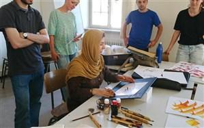 معرفی هنر خوشنویسی به دانشجویان آلمانی