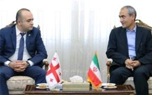 استاندار آذربایجان شرقی بر گسترش مبادلات تجاری بین تبریز و تفلیس تاکیدکرد