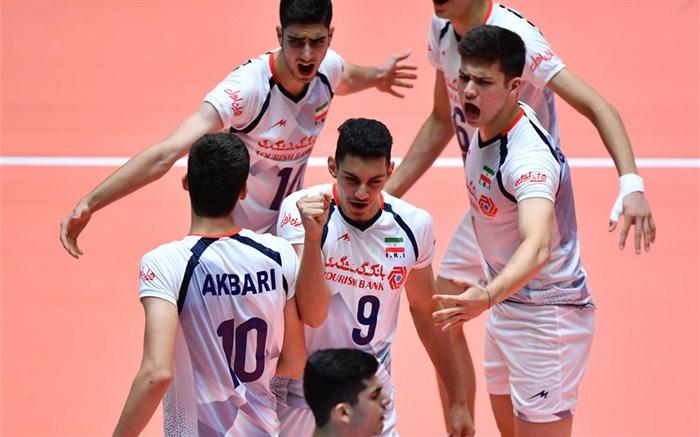 تیم ملی والیبال نوجوانان ایران 2018