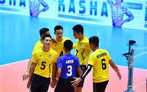 والیبال قهرمانی نوجوانان آسیا؛ مالزی بدون دردسر صدرنشین شد