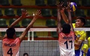 والیبال قهرمانی نوجوانان آسیا؛ هند به صدر جدول چسبید