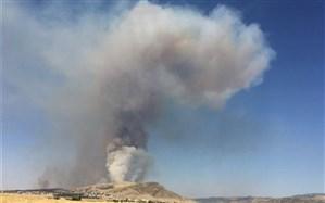 تداوم تلاشها برای اطفای آتشسوزی جنگلهای سوزنیبرگ کلاله