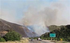 آتشسوزی در پارک ملی گلستان همچنان ادامه دارد