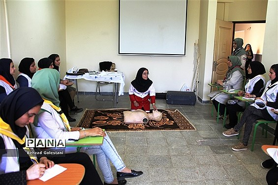 اردوی دانش آموزی پیشتازان دختر آذربایجان غربی -1
