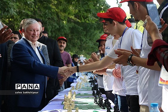 مسابقه بین المللی شطرنج سیمولتانه تبریز 2018