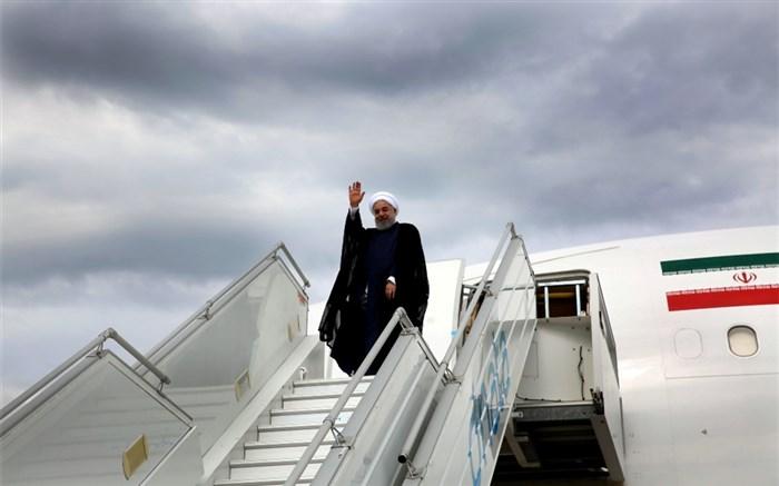 روحانی سوئیس را به مقصد اتریش ترک کرد