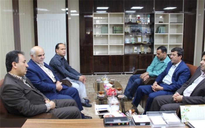 دیدار رئیس و کارکنان سازمان دانش آموزی استان بوشهر با معاون جدید پشتیبانی