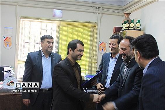 تودیع و معارفه رئیس سازمان دانش آموزی استان همدان