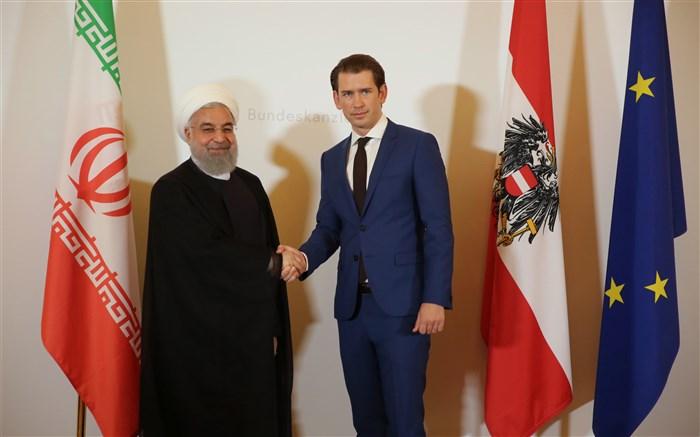 رئیس جمهور در نشست مشترک با صدراعظم اتریش