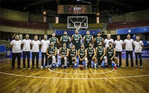 لیست تیم ملی بسکتبال برای دیدار مقابل استرالیا