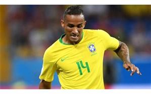 مدافع برزیل ادامه جام جهانی را از دست داد