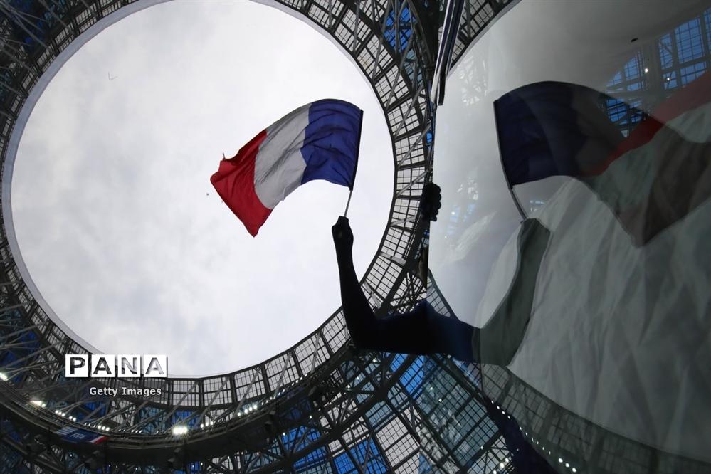 فرانسه به نیمه نهایی جام جهانی 2018 رسید