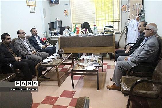 دیدار مدیرکل آموزش و پرورش همدان با رئیس سازمان دانش آموزی استان همدان