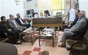 دیدار مدیر کل آموزش و پرورش همدان با رئیس سازمان دانش آموزی استان