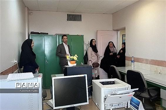 بازدید ارزیاب استانی از دبیرستان شهید وجدانی پاک، مجری برنامه تعالی چهاردانگه