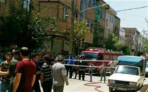 ضربه به لوله فرعی  و نشت گاز در اسلامشهر