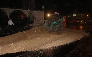 مدیر شهرداری منطقه دو سنندج:مسیر کمربندی دکتر حسینی  محل تصادف مرگبار شب گذشته سنندج  بازگشایی شد