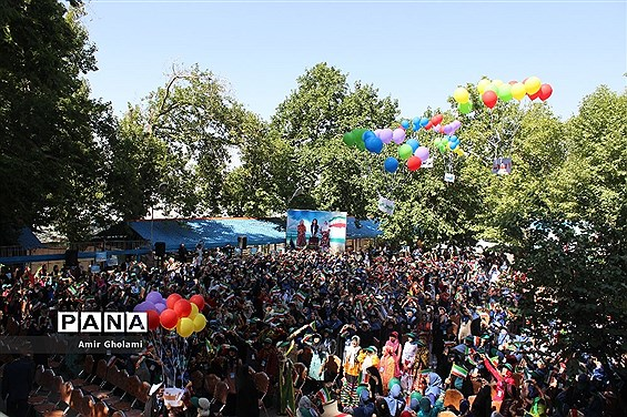 پانزدهمین اردوی ملی دانشآموزان دختر مناطق مرزی کشور
