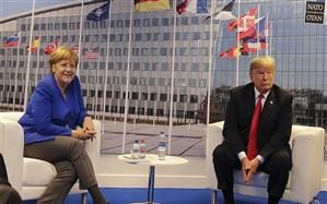 عقبنشینی ترامپ از مواضع تندش در دیدار با مرکل
