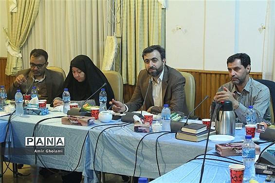جلسه توجیهی سرپرستان استان های حاضر در اردوی ملی مناطق مرزی