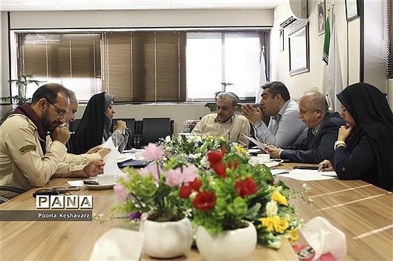 جلسه برگزاری اردوی استانی پیشتازان