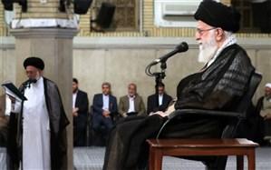 رهبر انقلاب: سیاست شیطانی «معامله قرن» آمریکا هرگز محقق نخواهد شد