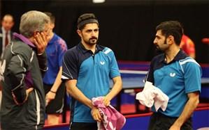 تنیس روی میز بینالمللی بلغارستان؛  ایران بدون بازی به نیمه نهایی رسید